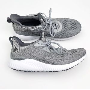 Adidas Alphabounce Grey and White Trainers